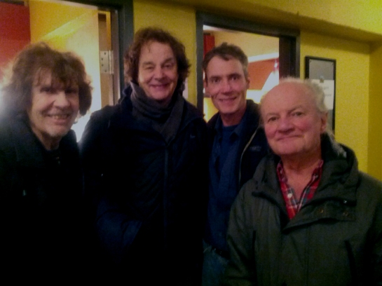 The Zombies - Rod Argent, Colin Blunstone and Jim Rodford