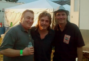 Steve Negus (Saga) and Todd Sucherman (Styx)