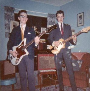 David and Ritchie - circa 1963