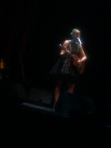 Jill Barber (Tres Smart ) ConcertReview
