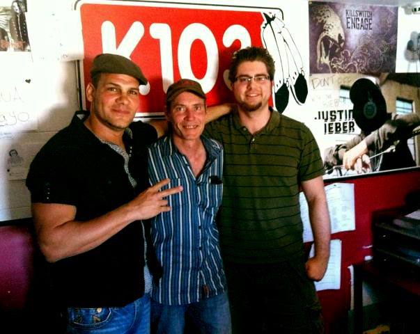 Derek Falls and Sean McKeogh (k103.7fm)