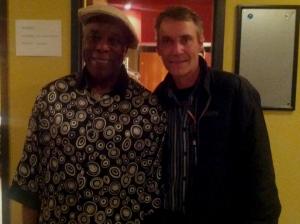 Buddy Guy and Rick Keene