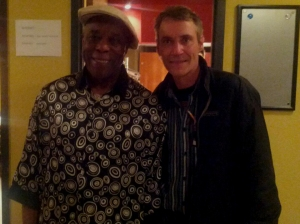 Buddy Guy and Rick Keene