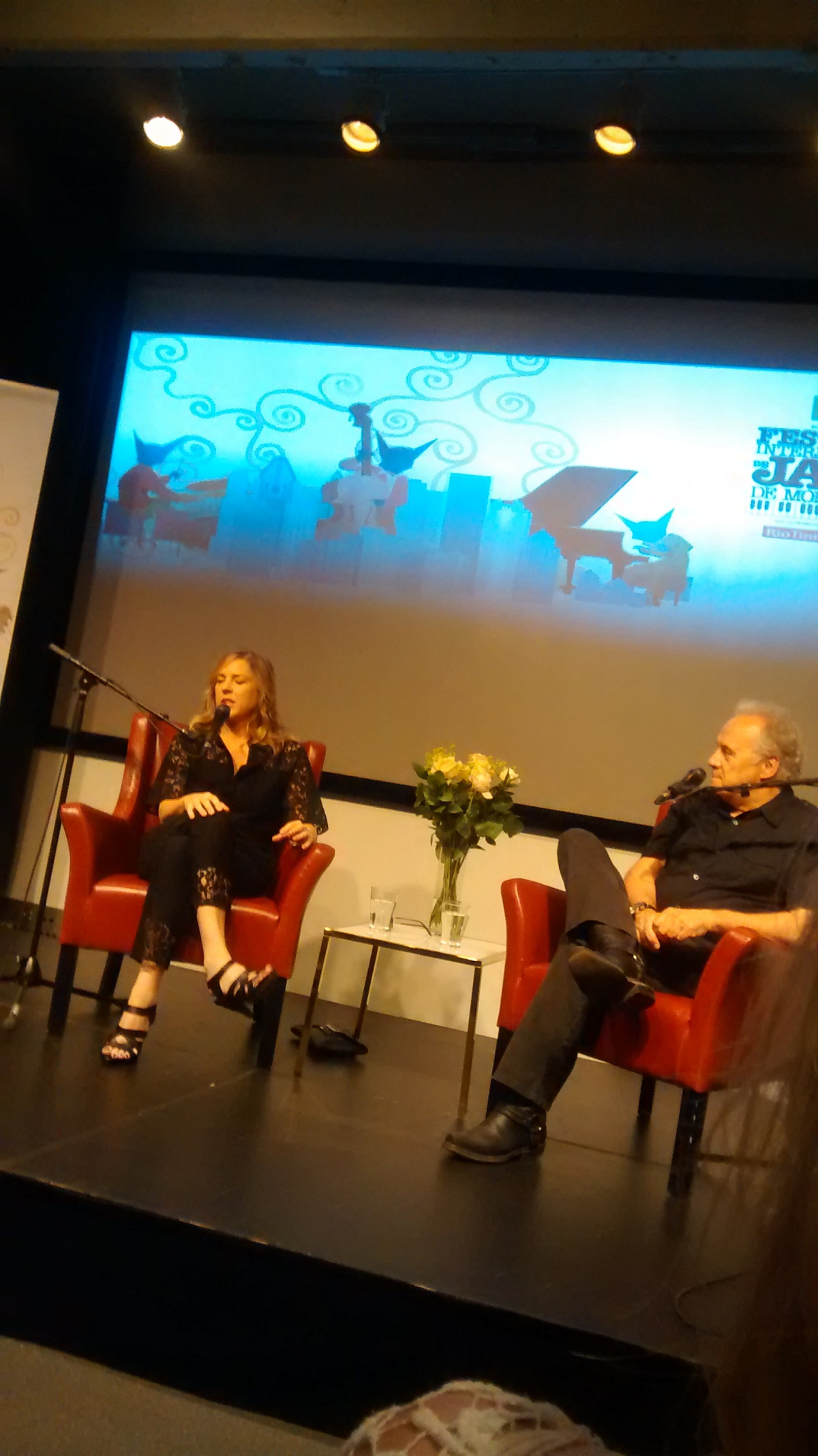 Diana Krall and Elvis Costello Soundcheck – Montreal International JazzFestival