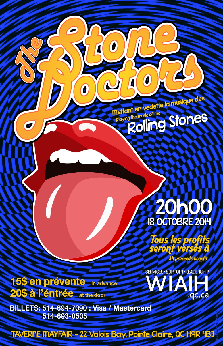 The Stone Doctors; Got Live If You Want to Raise Money forWIAIH