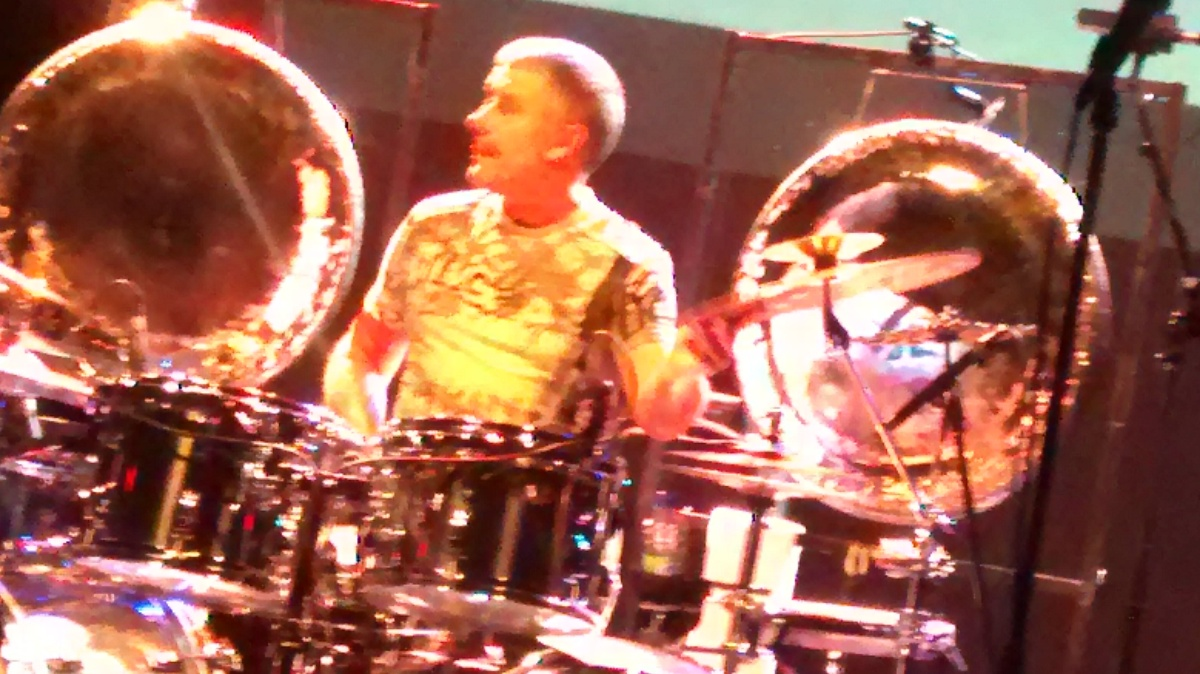 Rick Keene Music Scene Presents; A Carl Palmer DrumSolo