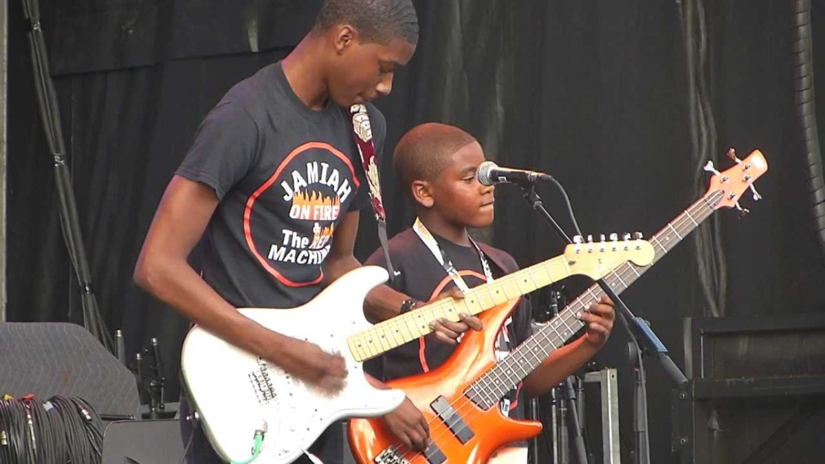 Trois Rivieres Blues Festival; Jamiah on Fire!