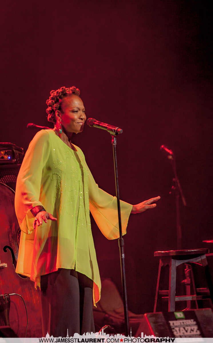 Lisa Simone – Just Like Mom ! ( Sorta) Montreal International Jazz Festival Review
