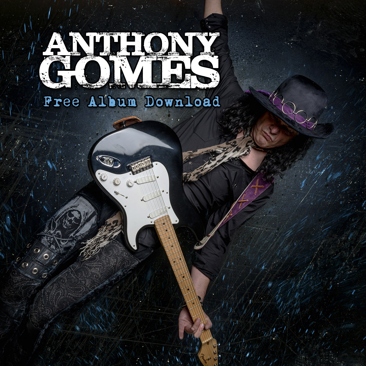 Rick Keene Music Scene – Anthony Gomes; Giving Back Through Music and Actions ! PartTwo.