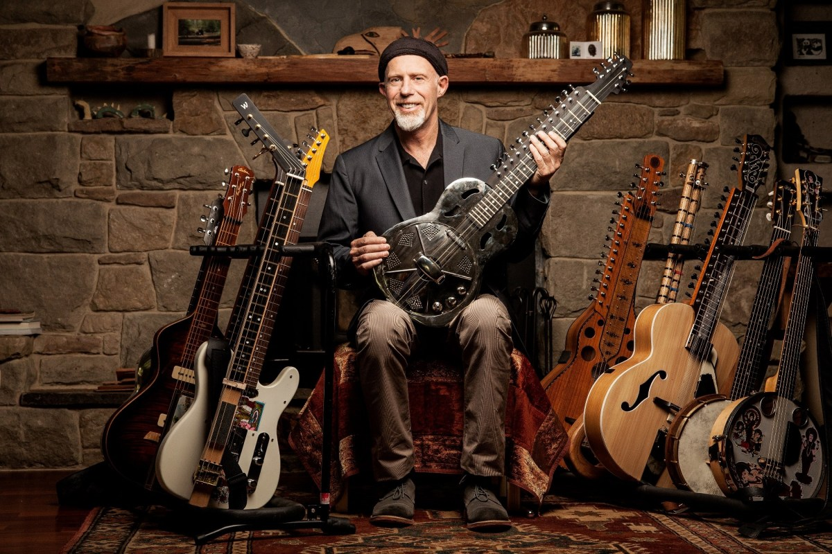 Rick Keene Music Scene; Harry Manx Talks Blues and New Album 'Faith Lift'. Part One