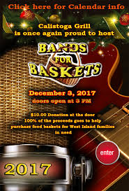 Rick Keene Music Scene – Top Ten Reasons to Attend Bands for Baskets2017