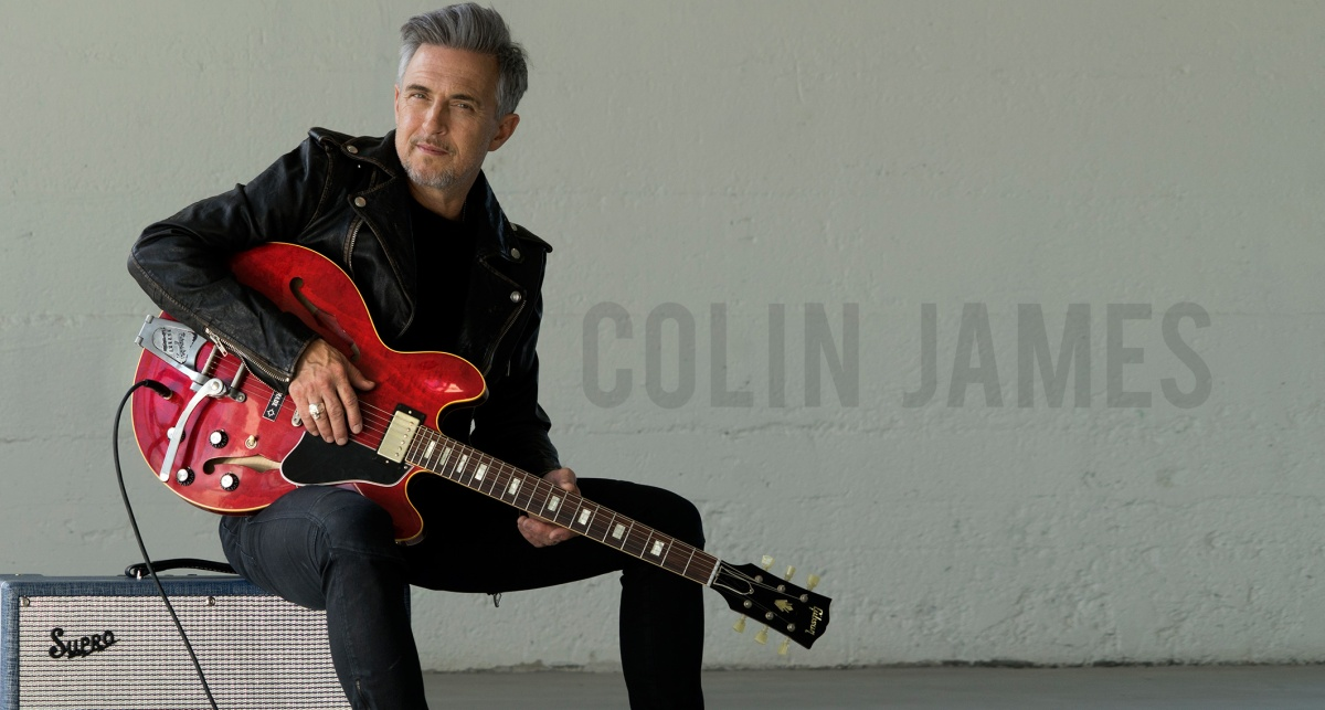 Rick Keene Music Scene - Colin James Has 'Miles to Go' In His Music Career