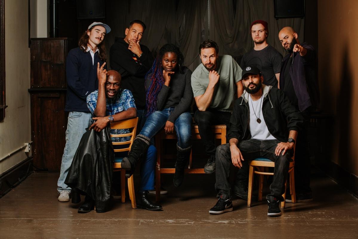 Rick Keene Music Scene Presents;  An Eight Piece Hip Hop / R & B Big Band DeliversBig